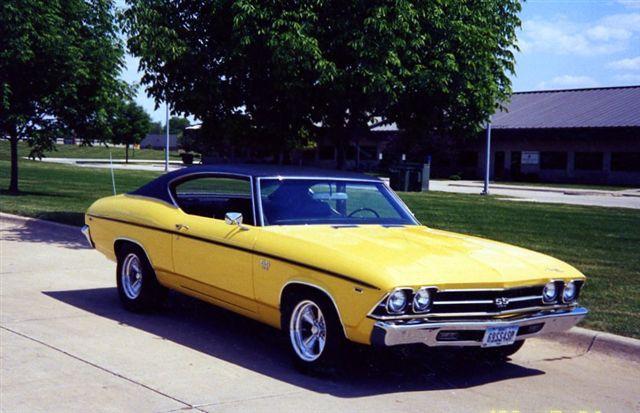 1969 SS396 CHEVELLE BUTTERNUT YELLOW | eBay