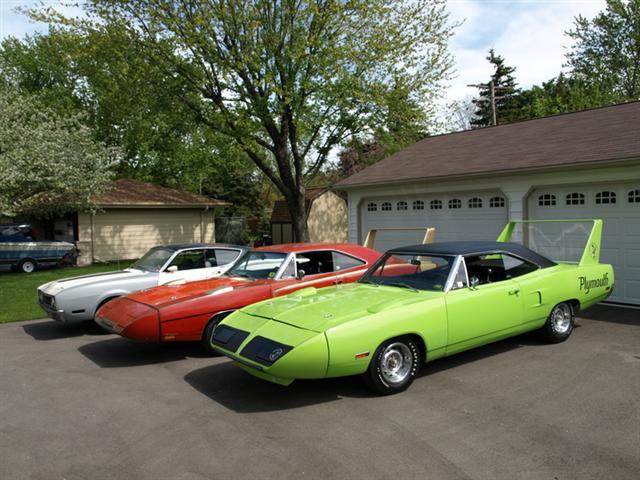 1969 Dodge Daytona And A 1970 Superbird Legendary