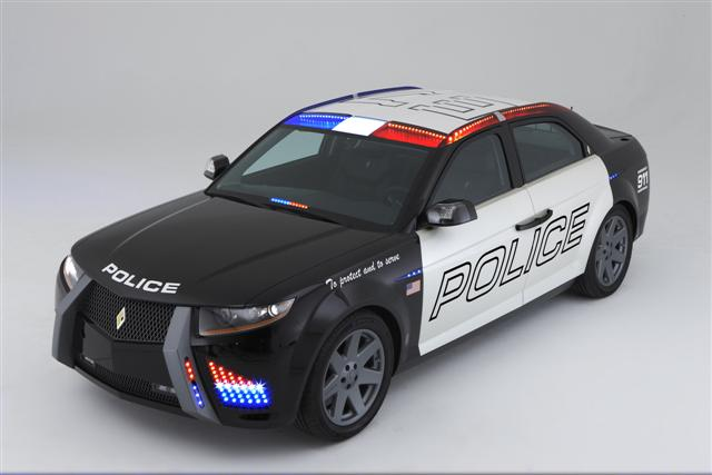 New Police Car; Carbon Motors : Information on collecting cars ...