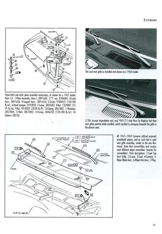 camaro restoration guide 1967 1969 review information on rh legendarycollectorcars com 1979 camaro restoration guide 1970 camaro restoration guide