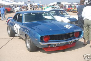 1969 Z28 Camaro Race Car