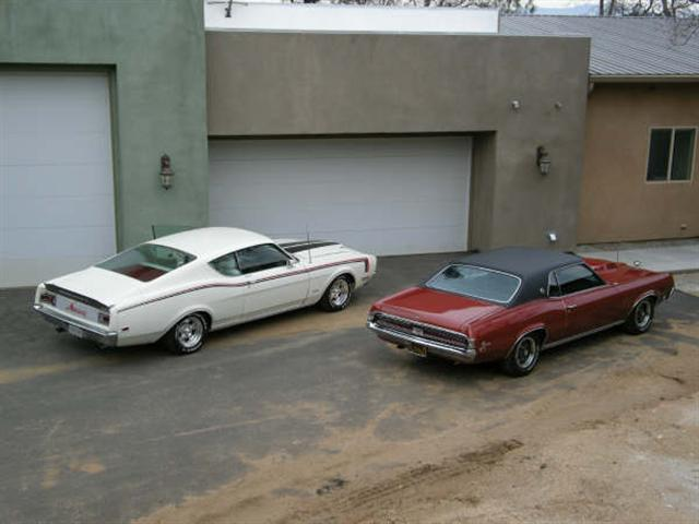 1969 Mercury Cougar XR7 and 1969 Mercury Cyclone
